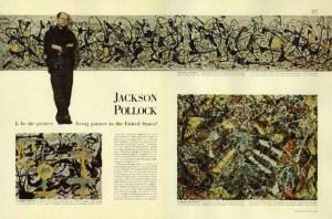 Artículo sobre Pollock publicado en la revista Life el 8 de agosto de 1949