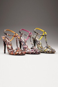 Bottega Venetta Pollock Drip Painting shoes