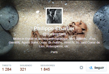 philippe Charlier twitter