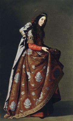 Santa Casilda de Zurbarán a.1630-35. Colección Museo Thyssen
