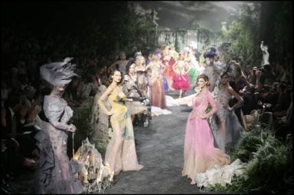 Christian Dior. Colección Alta Costura Otoño/Invierno 2005
