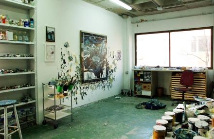 Estudio de Santiago Giralda en Nave Oporto  Fotografía: Alberto de las Vecillas
