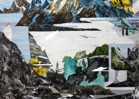 """Detalle de """"El observador"""" (2013) rendering Landscapes Fotografía: santiagogiralda.com"""