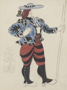 le tricorne picador museo picasso 1920  paul rosenberg