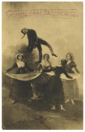 postal de falla a diaghilev enviada el 21 octubre 1921